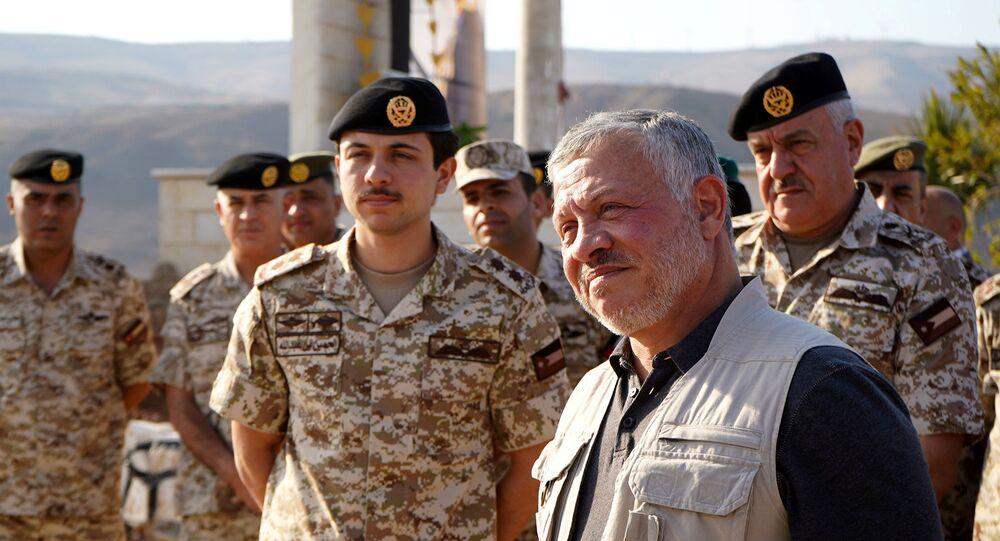 زيارة الملك عبد الله الثاني إلى منطقة الباقورة