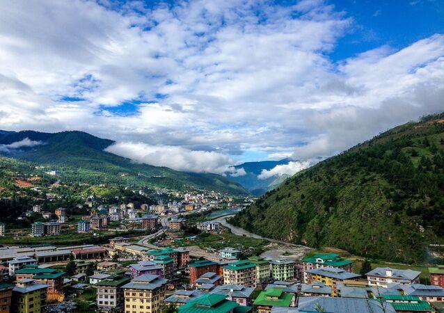 عرض قرية في بوتان