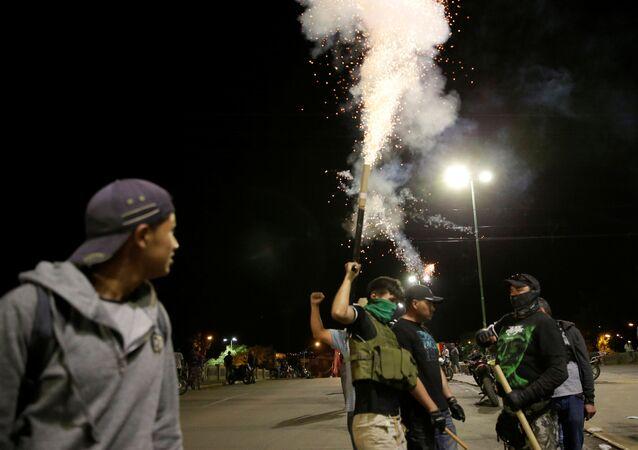 احتجاجات بوليفيا