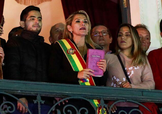 نائبة مجلس الشيوخ في بوليفيا جانين آنيز