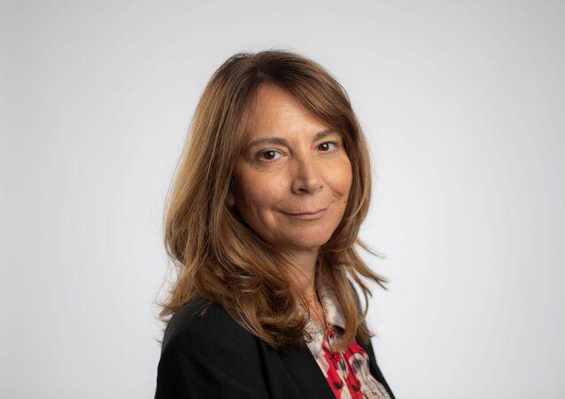 الصحفية اللبنانية البريطانية رولا خلف