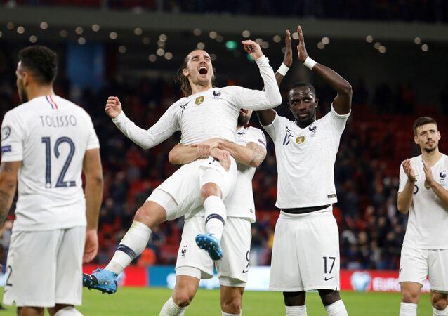 مباراة منتخب فرنسا وألبانيا في تصفيات يورو 2020