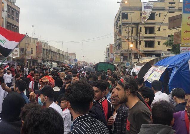 تمديد الإضراب العام في ذي قار جنوبي العراق