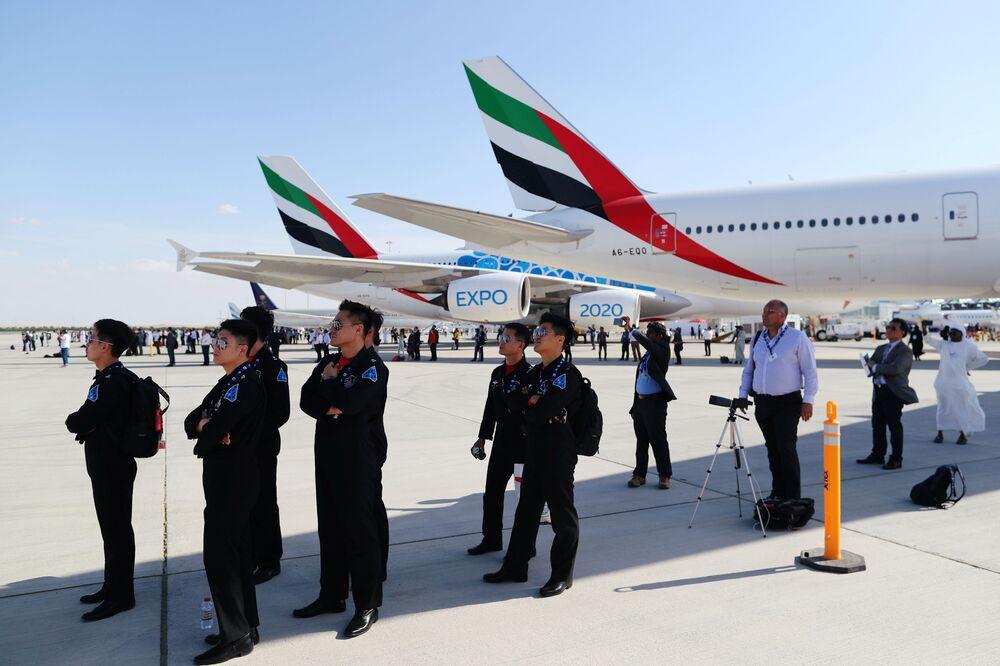 زوار معرض دبي للطيران لعام 2019، 17 نوفمبر 2019