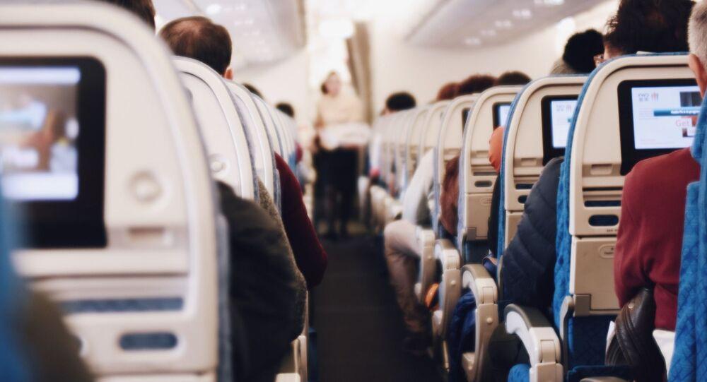 صالون الطائرة