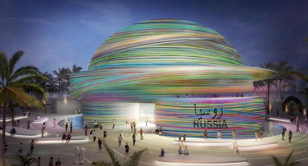 مشروع الجناح الروسي لمعرض إكسبو 2020 في دبي