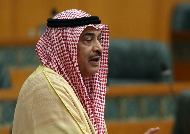 الشيح صباح خالد الأحمد الصباح رئيس مجلس الوزراء الكويتي