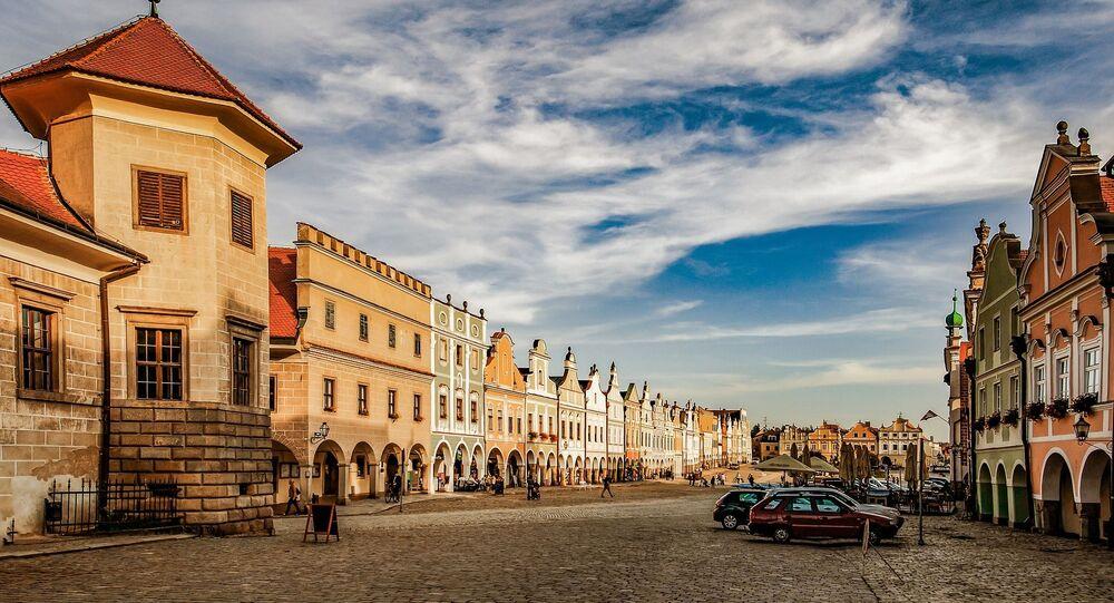 المدينة-المتحف تيلتش في جمهورية التشيك