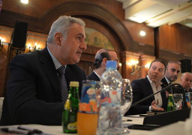 محمد حمشو أمين السر العام لاتحاد غرف التجارة السورية