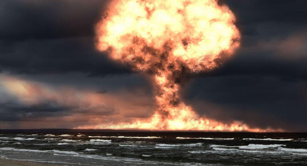 انفجار نووي في المحيط