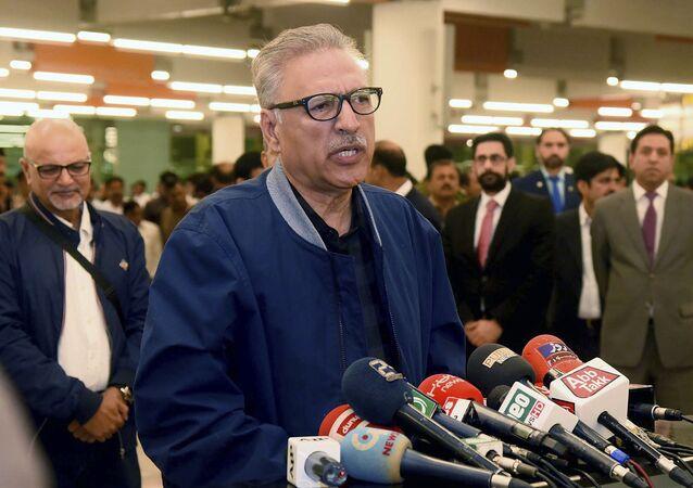 الرئيس الباكستاني عارف علوي