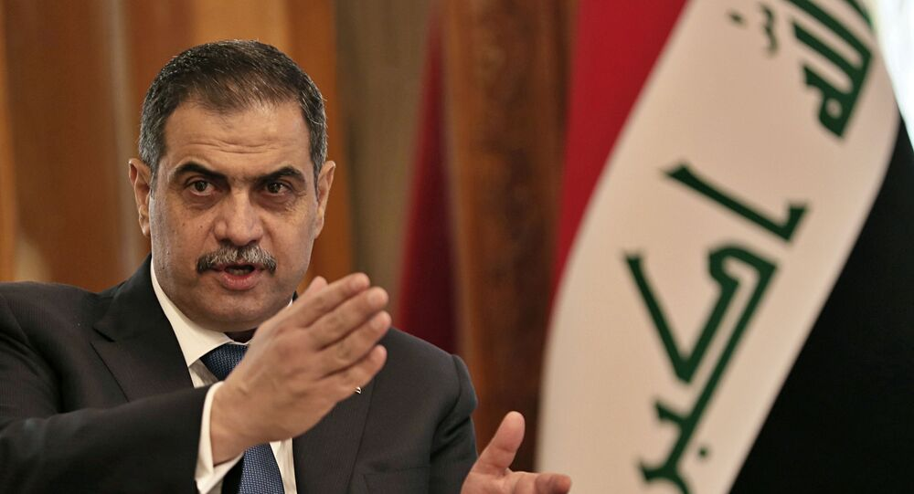 وزير الدفاع العراقي نجاح الشمري