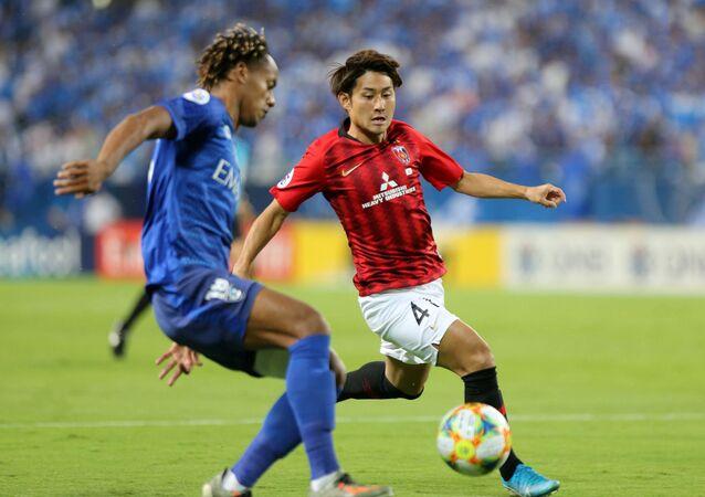 الهلال السعودي ونادي أوراوا ريد الياباني في ذهاب نهائي دوري أبطال آسيا