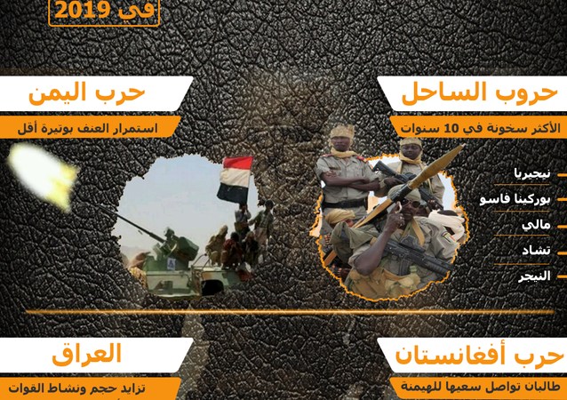 إنفوجرافيك - أبرز الصراعات والأزمات العسكرية في 2019