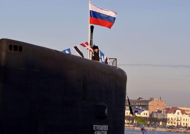 تسليم غواصة بيتروبالوفسك-كامتشاتكا، التي تعمل بالديزل والكهرباء، من مشروع 636.6 فارشافيانكا، إلى القوات البحرية الروسية، 25 نوفمبر 2019