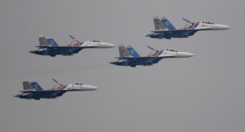 مقاتلات سو-27 الروسية