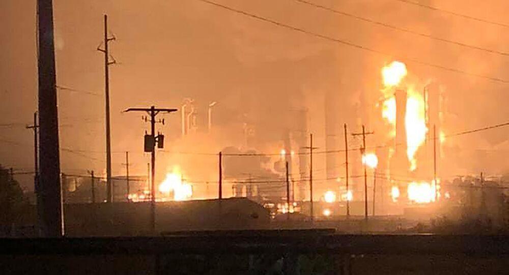 انفجار في مصنع بولاية تكساس الأمريكية