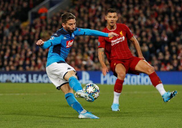مباراة ليفربول مع نابولي في دوري أبطال أوروبا