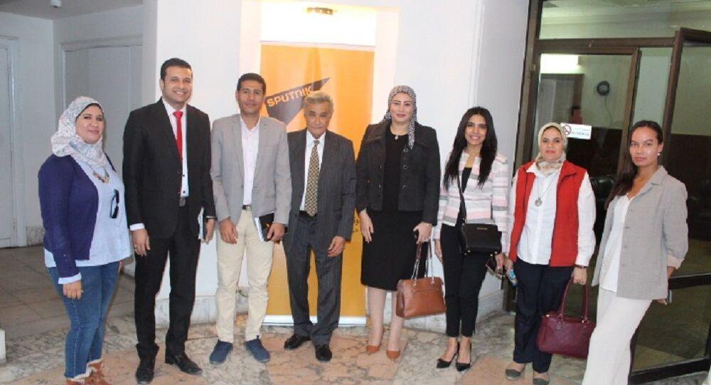مؤتمر تلفزيوني برعاية سبوتنيك بين روسيا ومصر يناقش سبل التعاون في البحث العلمي
