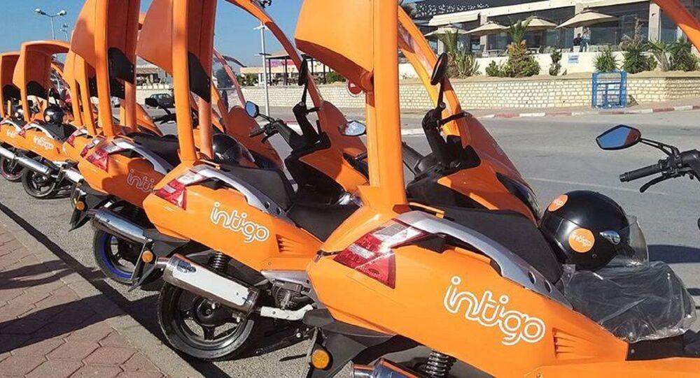 التاكسي الدراجة النارية في تونس