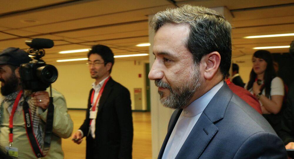 مساعد الخارجية الإيرانية للشؤون السياسية، عباس عراقجي، 2014