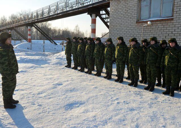 طلاب كلية قازان العسكرية