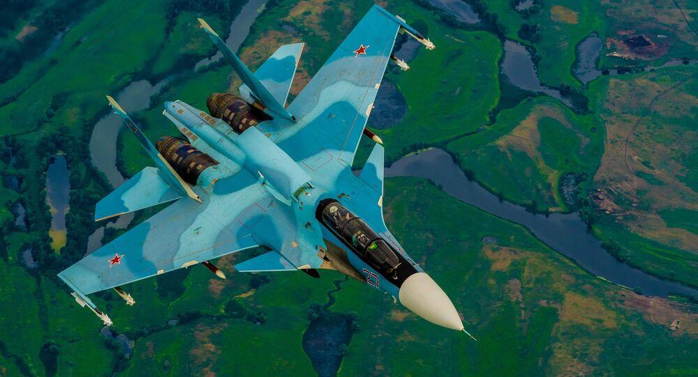المقاتلة الروسية متعدةة المهام من الجيل الرابع (+4) سو-30
