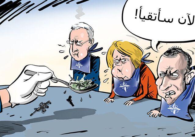 الولايات المتحدة  أتخمت الناتو بأسلحتها