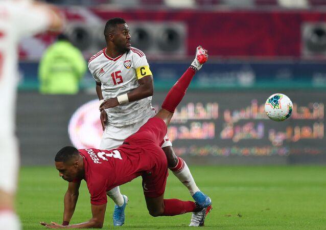مباراة قطر والإمارات في كأس الخليج