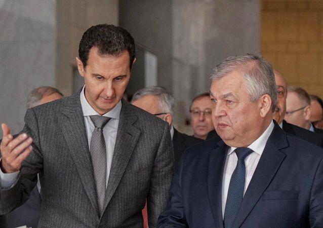 الأسد ولفرينتيف في سوريا