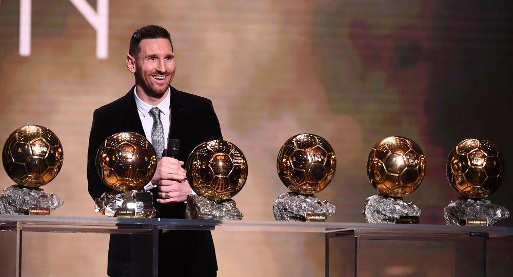 ليونيل ميسي، الكرة الذهبية، باريس 2 ديسمبر 2019