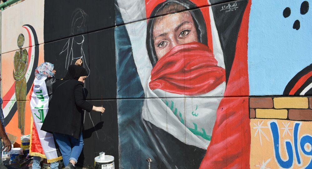 المظاهرات تقضي على التحرش بالفتيات في العراق