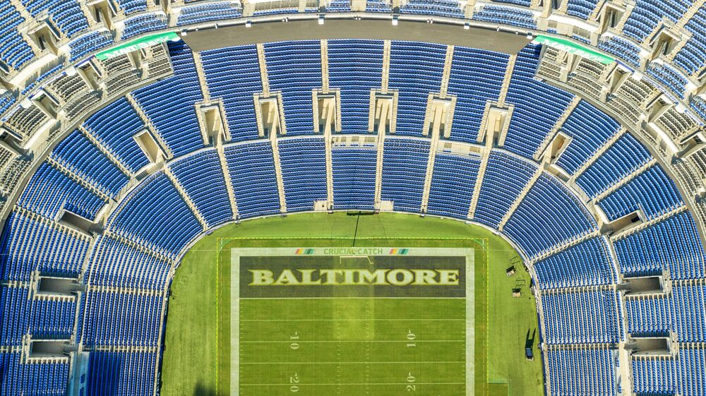ملعب إم آند تي بانك ستاديوم في بالتيمور ماريلاند. حيث يستضيف الملعب مباريات كأس العالم 2026