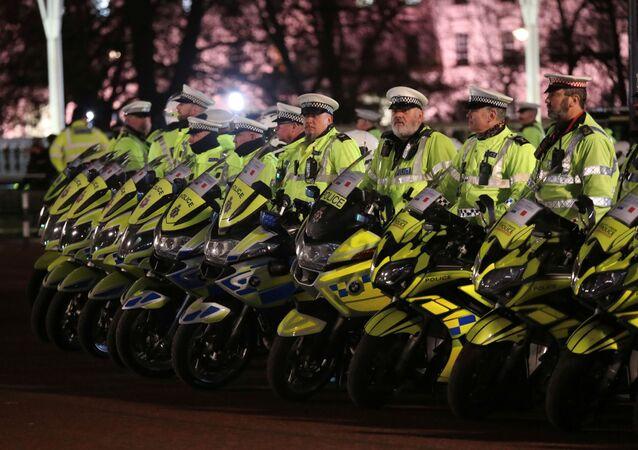 الشرطة البريطانية في قمة الناتو في لندن، 3 ديسمبر 2019