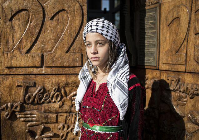 الناشطة الفلسطينية الصغيرة جنى التميمي، 2018