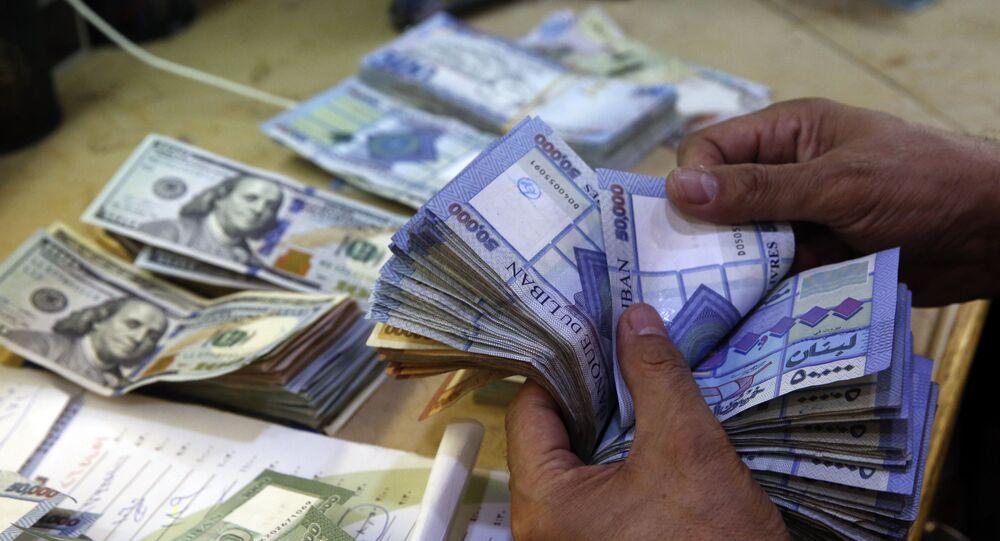 العملة اللبنانية الليرة