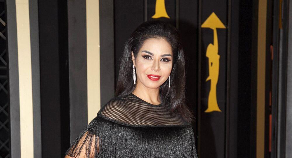 الممثلة المصرية نسرين أمين