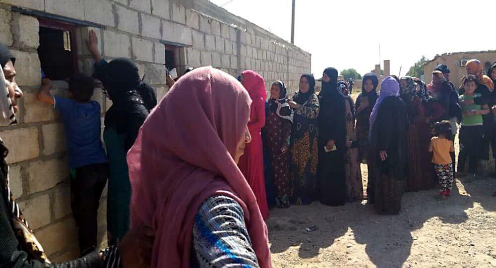 اللايشمانيا تفتك بأطفال المناطق الخاضعة للاحتلال الأمريكي في دير الزور