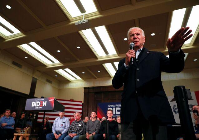 المرشح الديمقراطي المحتمل في أمريكا جو بايدن