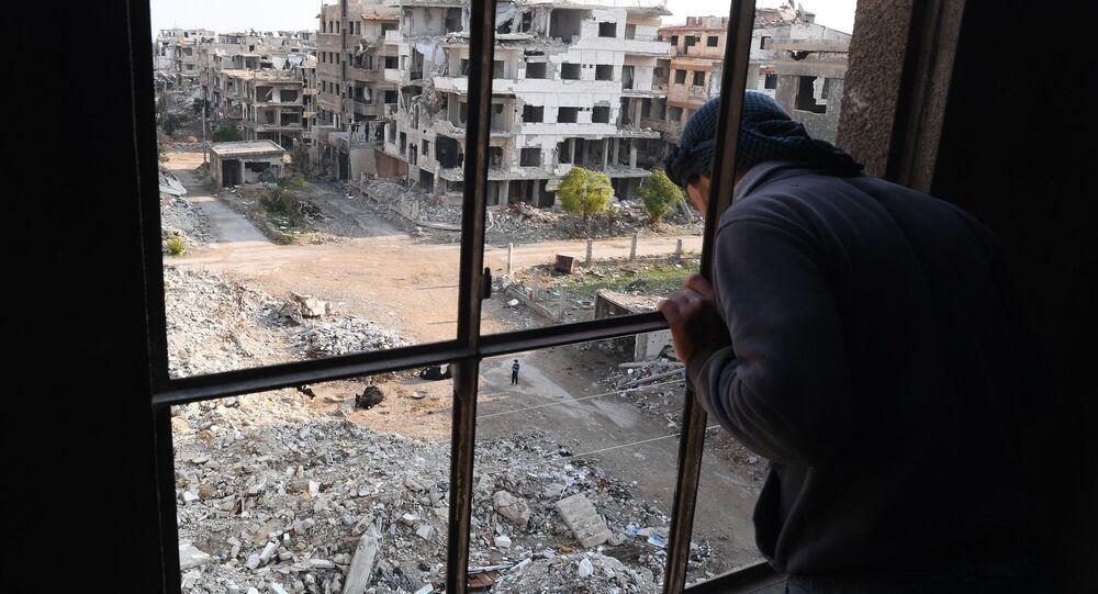 الوضع في ريف دمشق، سوريا 7 ديسمبر 2019