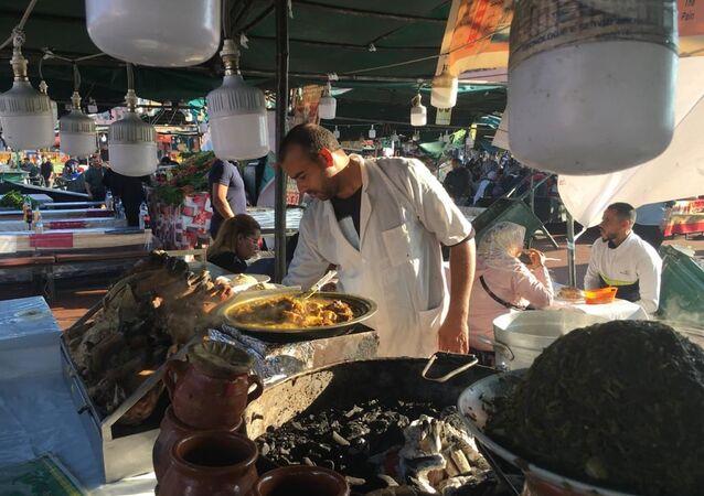 ساحة الفنا في المغرب