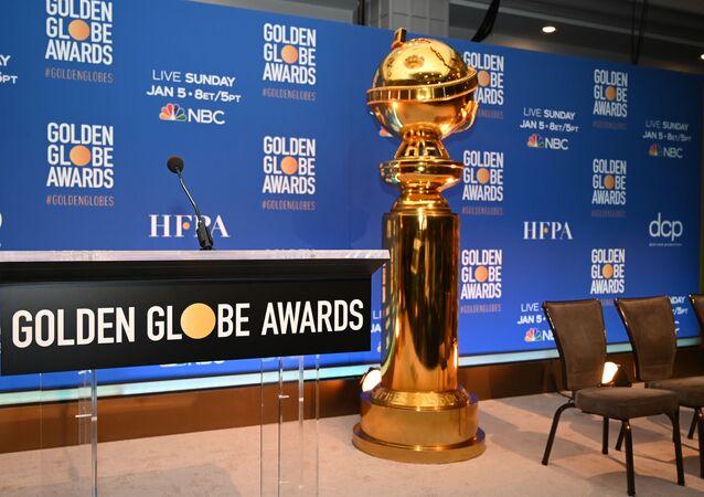 حفل إعلان ترشيحات جوائز غولدن غلوب الـ77 في فندق بيفرلي هيلتون في بيفرلي هيلز، الولايات المتحدة، 9 ديسمبر/ كانون الأول 2019