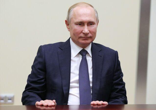 الرئيس فلاديمير بوتين، 7 ديسمبر 2019