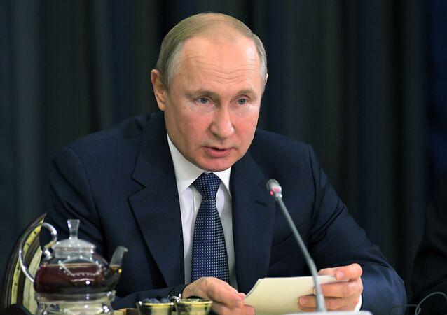 الرئيس فلاديمير بوتين، 6 ديسمبر 2019