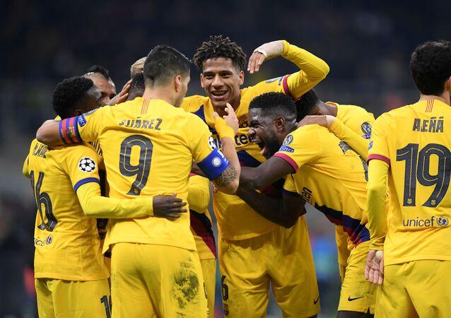 أهداف مباراة برشلونة وإنتر (2-1) في دوري أبطال أوروبا