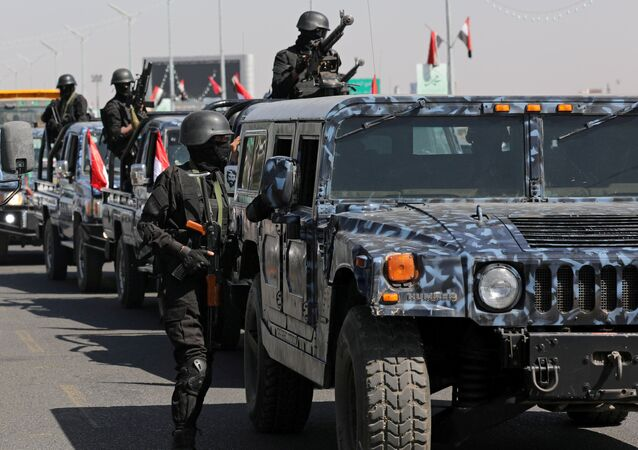 قوات أنصار الله، الحوثيون، في صنعاء، اليمن 5 نوفمبر 2019