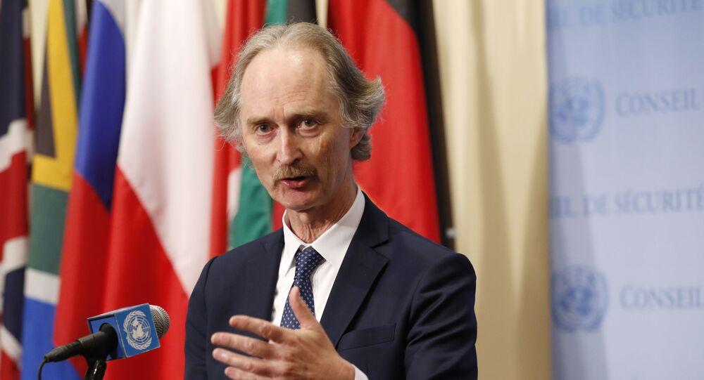 مبعوث الأمم المتحدة الخاص إلى سوريا، غير بيدرسون، 10 يوليو 2019