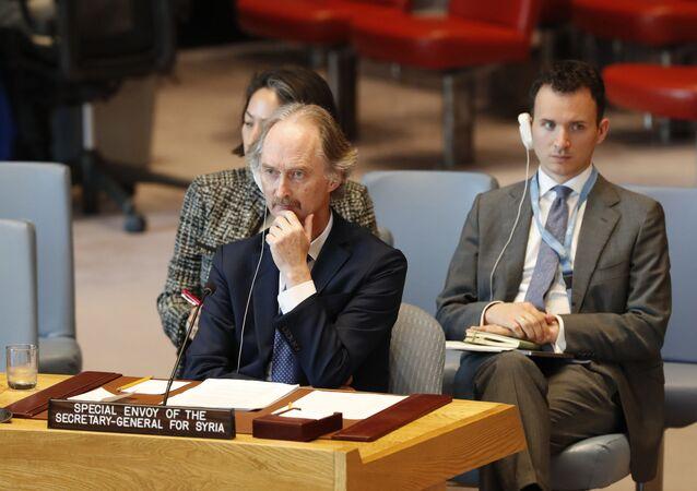 مبعوث الأمم المتحدة الخاص إلى سوريا، غير بيدرسون، 30 أبريل 2019