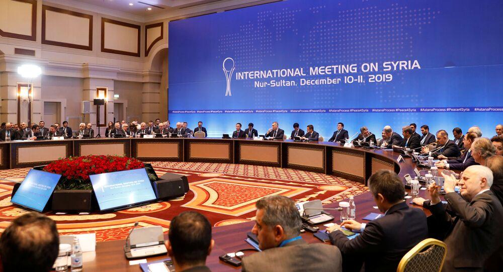 محادثات أستانا (نور سلطان)، كازاخستان11 ديسمبر 2019