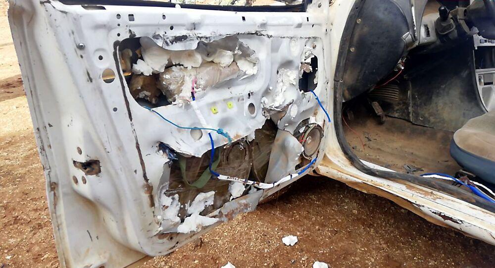 الأمن السوري يضبط سيارة ودراجات مفخخة وأحزمة ناسفة وأسلحة بريف درعا، سوريا